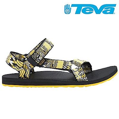 TEVA ORIGINAL UNIVERSAL JOLBY 男休閒涼鞋 花園黑