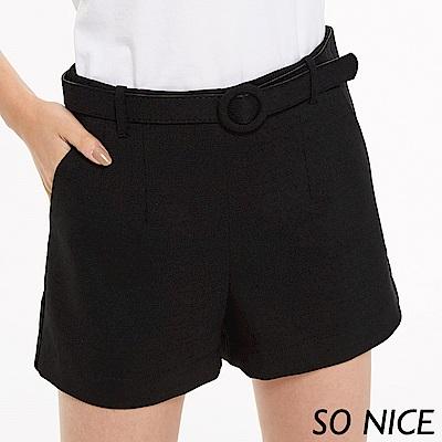 SO NICE都會俐落時尚短褲