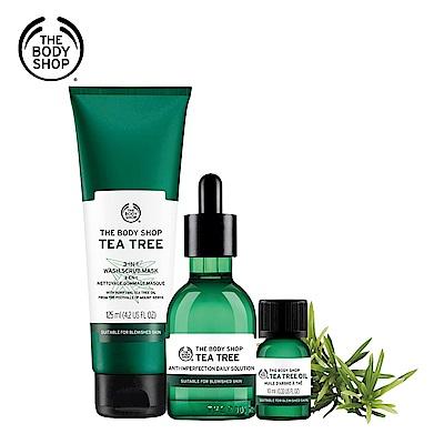 The Body Shop 天然茶樹淨化調理組