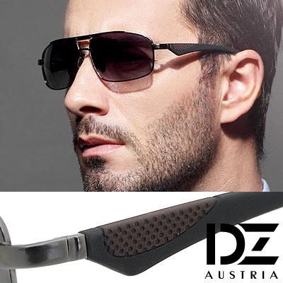 【2件59折】DZ 炫風翼者 抗UV 偏光太陽眼鏡墨鏡(槍框灰片)