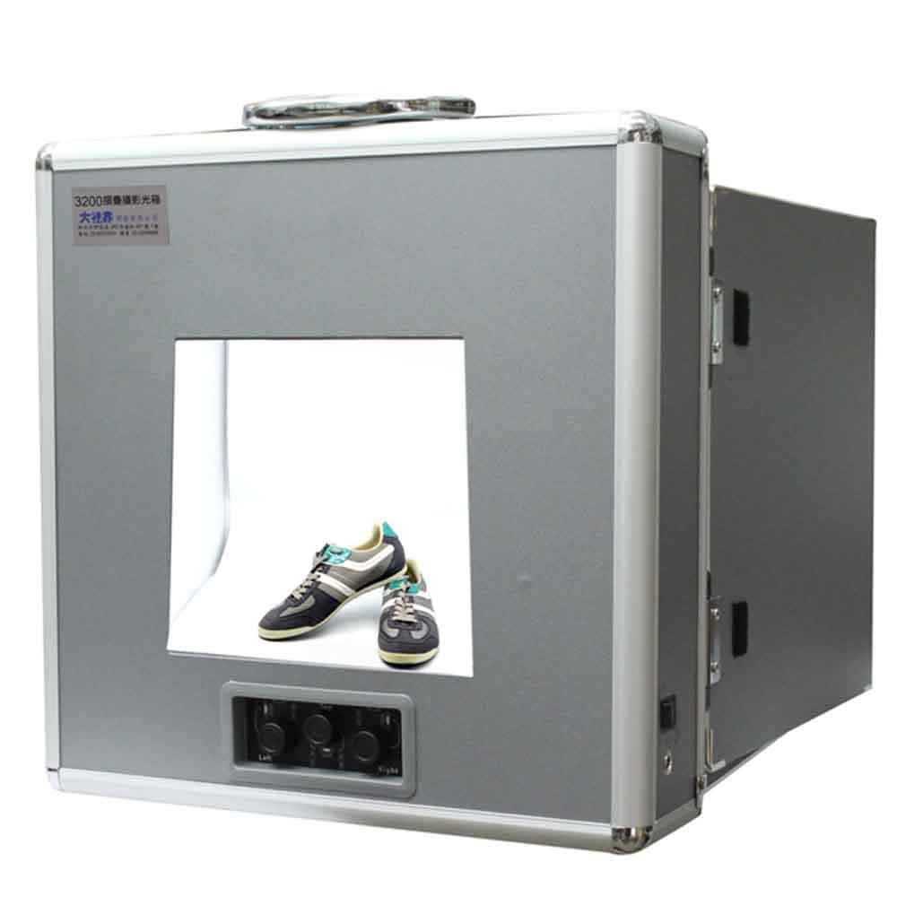 Piyet 3200 LED專業摺疊攝影光箱
