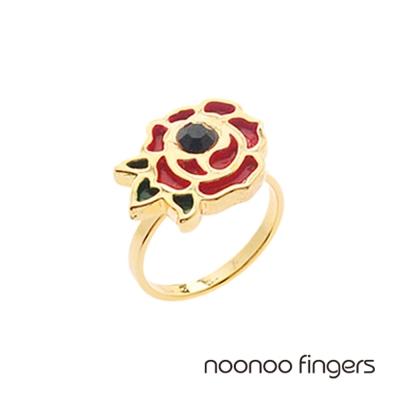 Noonoo Fingers Rose Ring 玫瑰 戒指