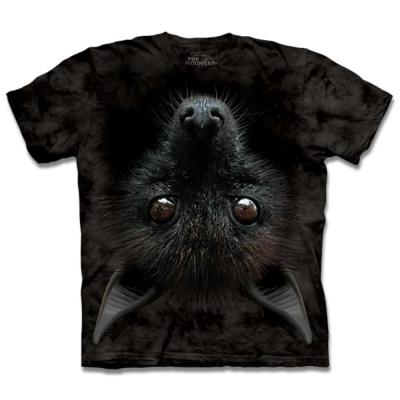 摩達客 美國進口The Mountain倒掛蝙蝠 短袖T恤