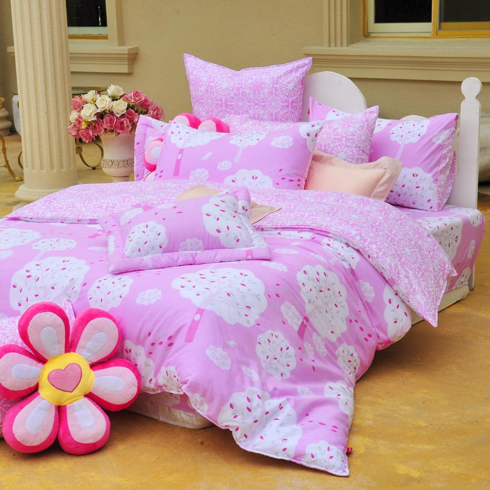義大利Fancy Belle 甜漾許願樹 加大純棉床包枕套組
