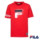 FILA x GTM 聯名款 短袖圓領T恤-紅1TER-5400-RD