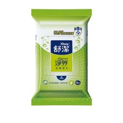 舒潔抗菌濕巾(10抽x4包入)