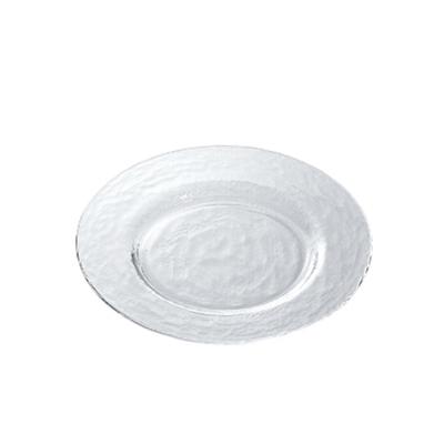 【ADERIA】日本進口Biscuit系列玻璃淺型餐盤24cm