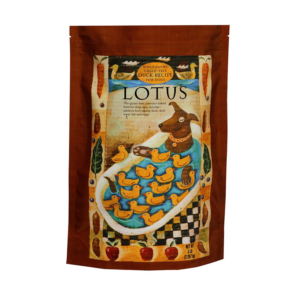 LOTUS樂特斯 無穀鮮鴨佐田野食蔬-全犬-4磅(中顆粒)