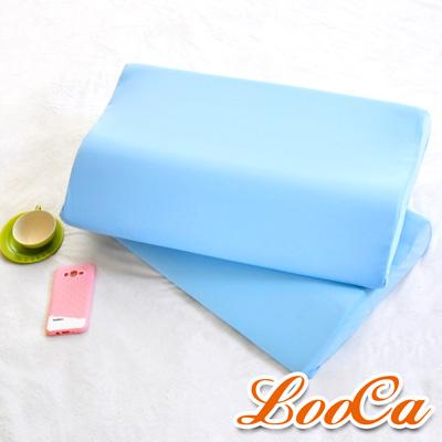 LooCa 吸濕排汗綠能兩用寶背紓壓枕 2入