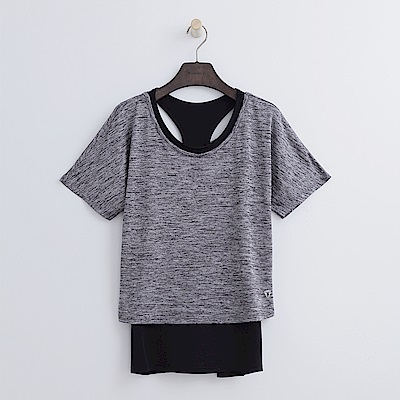 Hang Ten - 女裝 - ThermoContro兩件式T恤-灰色