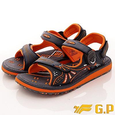 GP時尚涼拖-兩穿式磁扣涼鞋款-SE684W-42橘(女段)