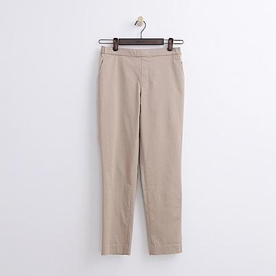 Hang Ten - 女裝 - 錐版修身長褲-卡其色