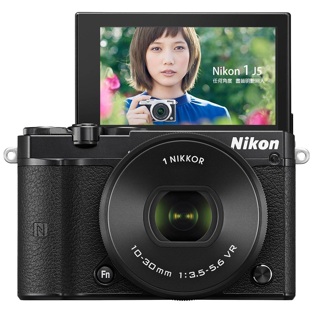 【豪華組】Nikon J5 10-30mm 變焦鏡組 (公司貨)