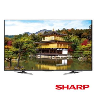 SHARP夏普 60吋 4K 智慧連網液晶電視 LC-60U35MT