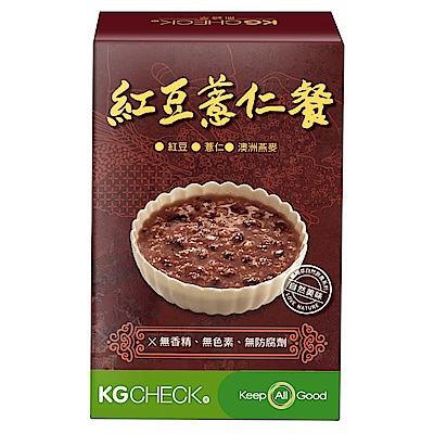 KGCHECK凱綺萃 KG紅豆薏仁餐(6包/盒)
