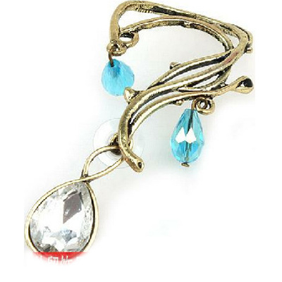 【Aimee Toff】簡單復古水鑽耳環