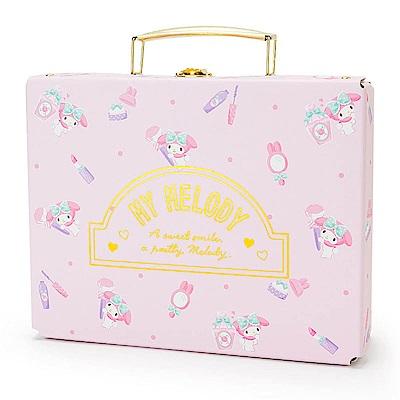 Sanrio 美樂蒂幸福女孩系列第二彈精裝硬紙A5手提收納箱(化妝小物)