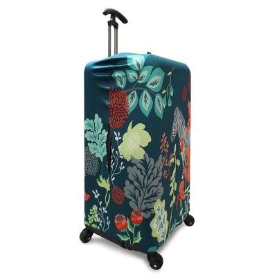 LOQI 行李箱外套 -叢林斑馬 (Sport、冰箱系列,適用30吋以上行李箱)