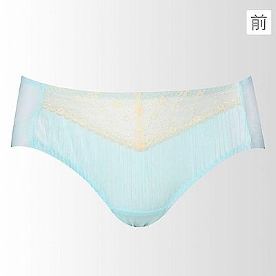 蕾黛絲-摺景輕真水 平口內褲 M-L(天空藍)