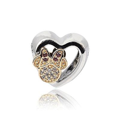 Pandora 潘朵拉 迪士尼系列 米奇米妮愛心 純銀墜飾 串珠