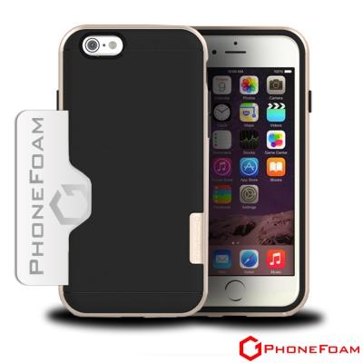 PhoneFoam-LINE-iPhone6-Plus-5-5吋-插卡式吸震保護殼