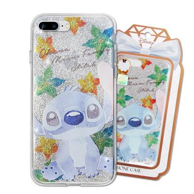 迪士尼 授權正版 iPhone 8 Plus/ 7 Plus 閃粉雙料保護手機殼...