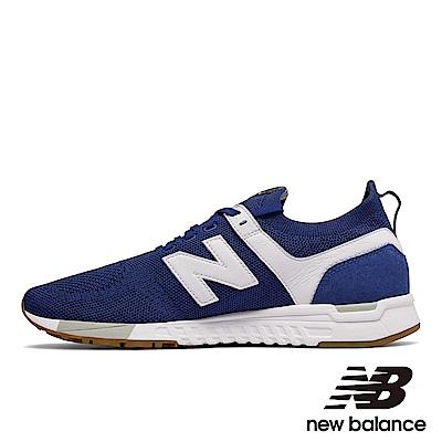 New Balance 復古鞋MRL247DU 中性藍色
