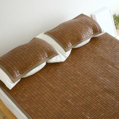 絲薇諾 3D透氣包邊炭化專利麻將竹枕墊(1入)