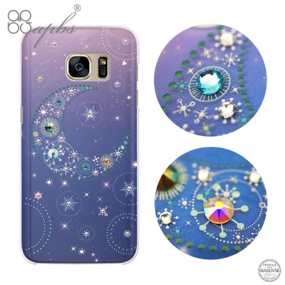 apbs Samsung Galaxy S7 施華洛世奇彩鑽手機殼-星月