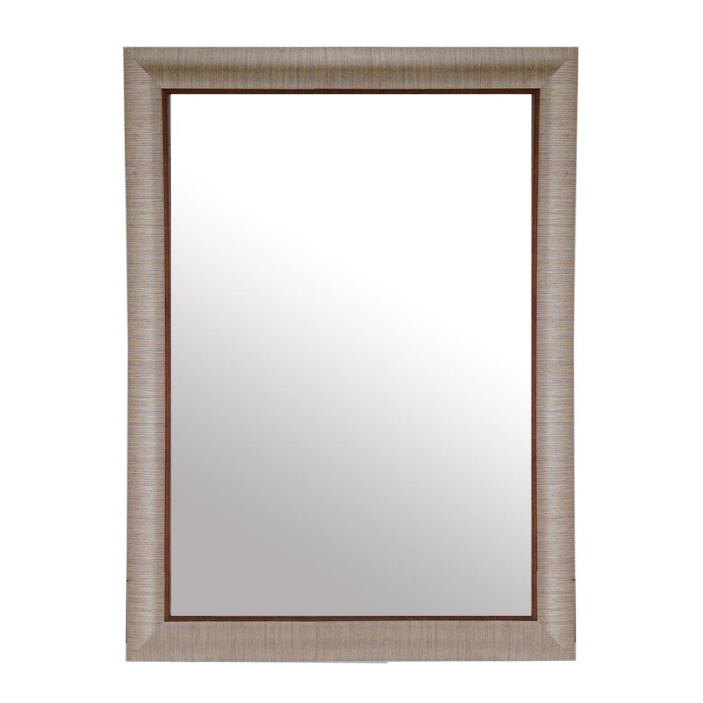 【愛麗絲仙鏡】藝術鏡-時尚簡約銀