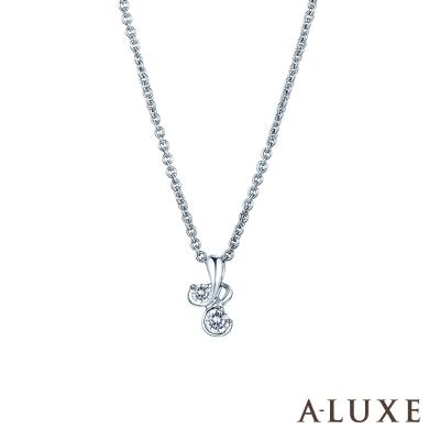 A-LUXE 亞立詩 Gifts愛戀 0.10克拉項鍊