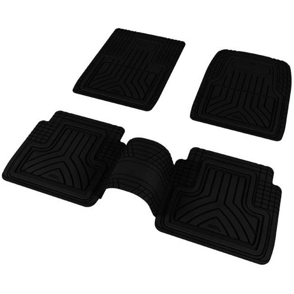 【神爪】可裁式安全車踏墊-包覆進階版 黑【5片】