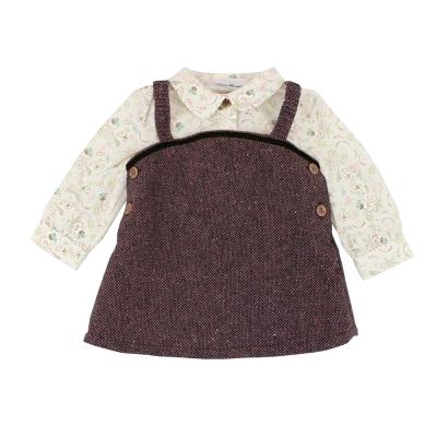 愛的世界 pappa&ciccia 寓言故事長袖背心裙套裝/4~8歲