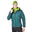 【Berghaus 貝豪斯】男款頂級溫度調節彈性防潑水鵝絨外套F22MM0-綠