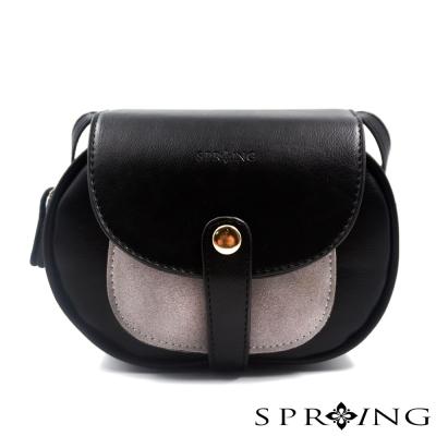 SPRING-斜背包-法式軟糖百變口袋小圓包