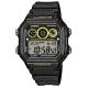 CASIO-10年電力亮眼設計方形數位錶-AE-1