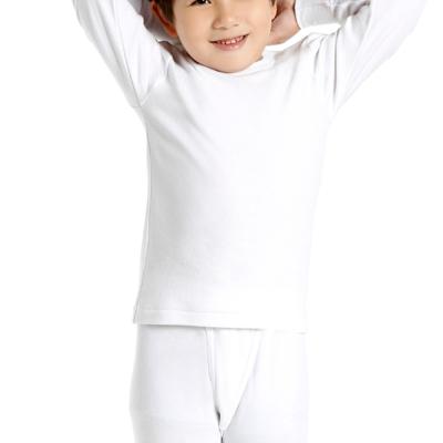 小宜而爽 尺寸36 男童羅紋厚棉衛生衣 2件組