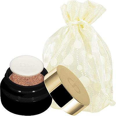 Dior 迪奧 精萃再生花蜜氣墊粉餅精巧版(#020)(4g)旅行袋組