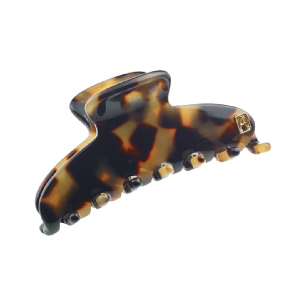Alexandre de paris 法國髮飾 玳瑁花紋系列 抓夾 髮夾