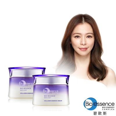 Bio-essence 碧歐斯 BIO膠原彈潤超澎精華霜50g-2入組