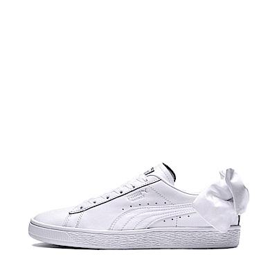 PUMA-BasketBowWns女復古運動鞋-白色