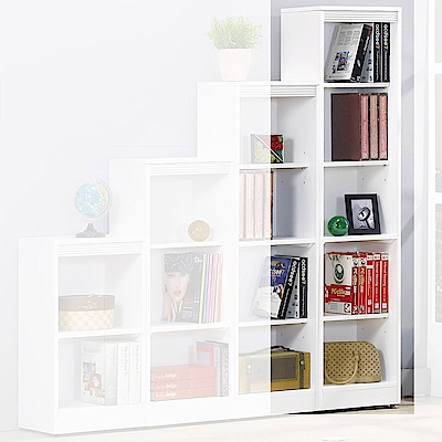 H&D白色耐磨五格櫃寬39.5X深30.3X高167cm