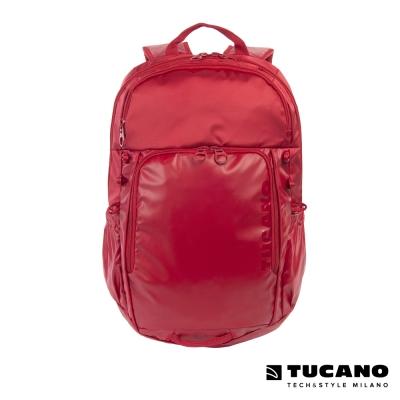 TUCANO TECH-YO UP 15吋時尚多功能後背電腦包-紅