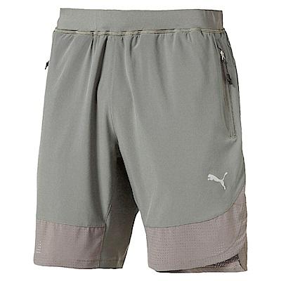 PUMA-男性慢跑系列9吋短褲-海狸灰-歐規