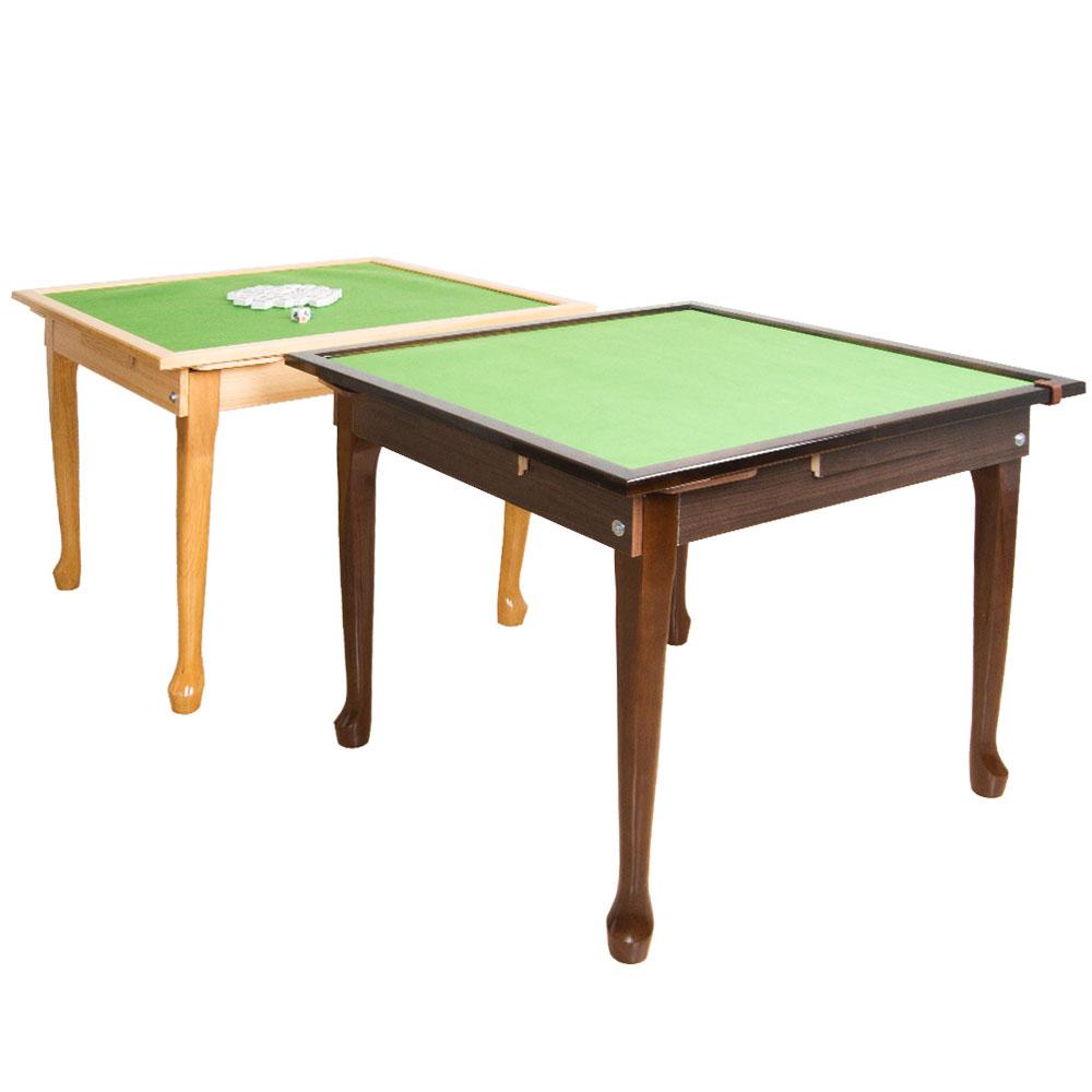 金財神實木可折腳麻將桌