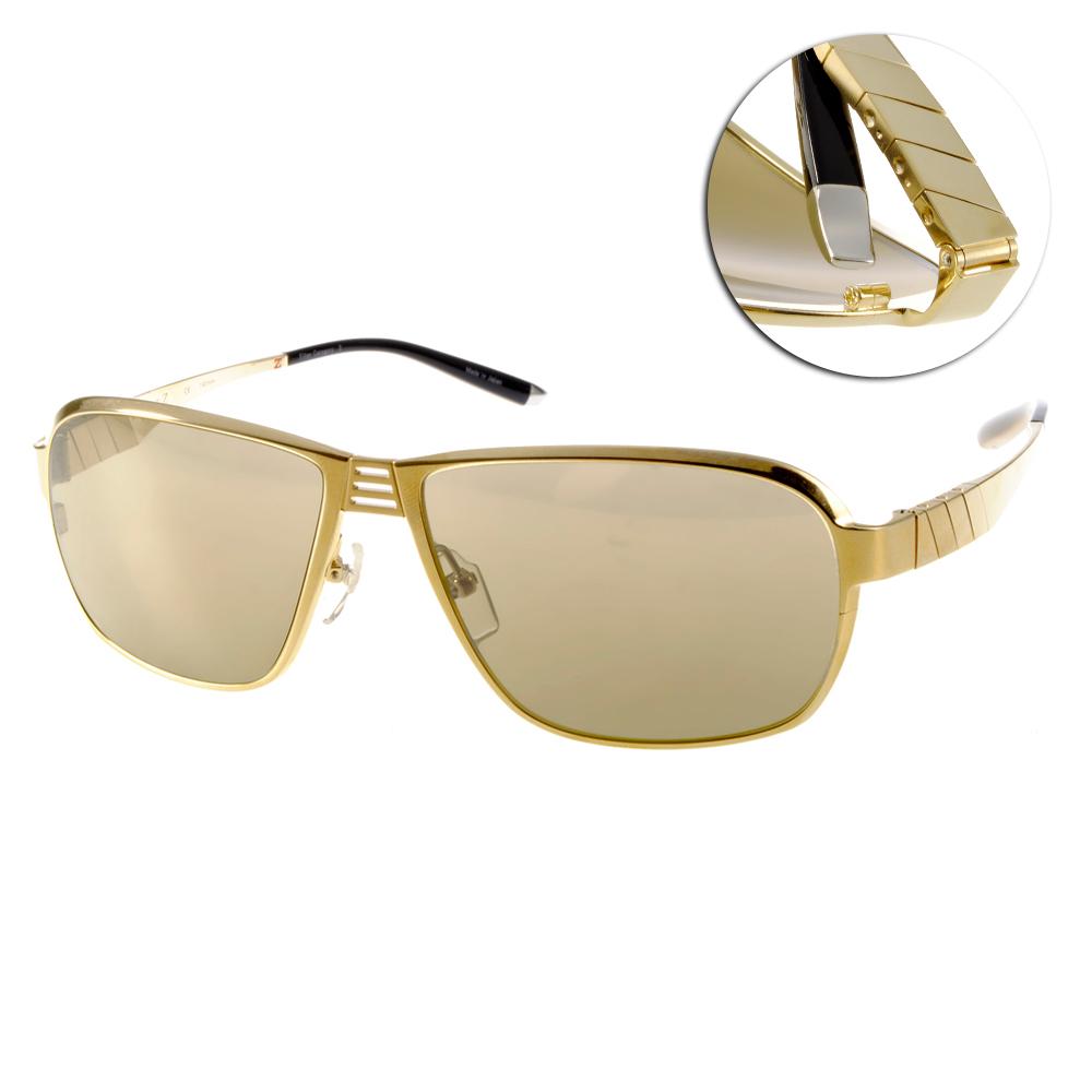 CHARMANT-Z太陽眼鏡 尖端時尚/金-黑#CZT11260 WG