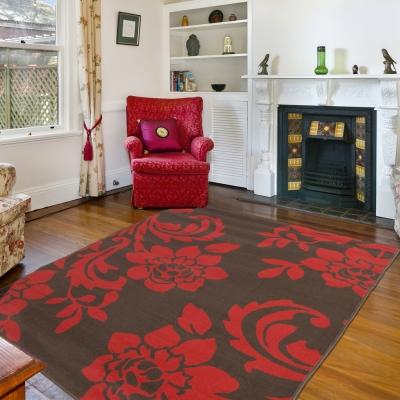 Ambience 比利時Luna 現代地毯--艷紅(160x225cm)