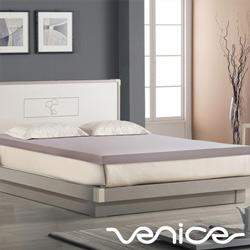 Venice日本抗菌防蹣3cm全記憶床墊-雙人5尺(灰色)