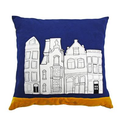 Yvonne Collection荷蘭街景抱枕(60x60cm)