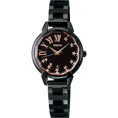 WIRED 羅馬時尚星空手鍊女錶-28mm